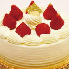 卵・小麦不使用デコレーションケーキ